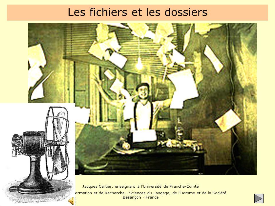 Jacques Cartier, enseignant à lUniversité de Franche-Comté Unité de Formation et de Recherche - Sciences du Langage, de lHomme et de la Société Besançon - France Exemple WordExcel Démo