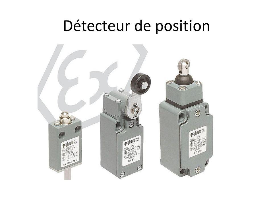 Détecteur de proximité Inductif et capacitif