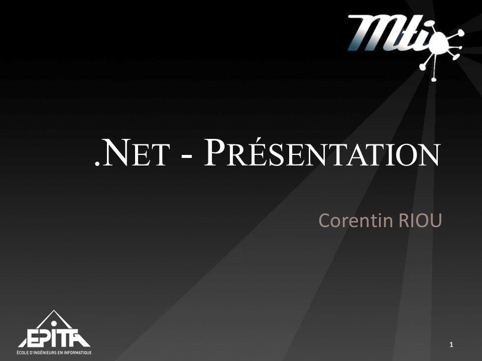 .N ET - P RÉSENTATION Corentin RIOU 1