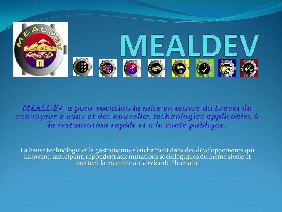 1.Je suis le promoteur du projet, 2. Les trois secteurs dactivité de MEALDEV, 3.