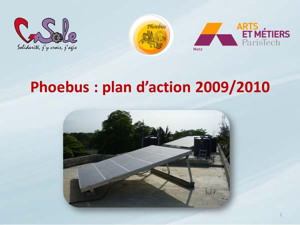 Phoebus : plan daction 2009/2010 1