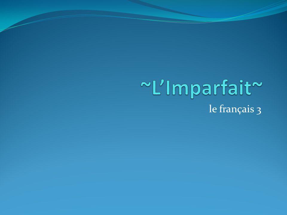 le français 3