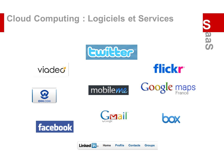 Cloud Computing : Logiciels et Services S aaS