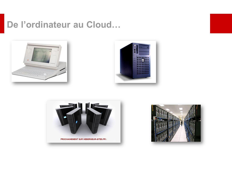 De lordinateur au Cloud…