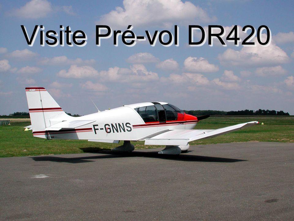 E.S. - Août 2001 M - 1/n Visite Pré-vol DR420