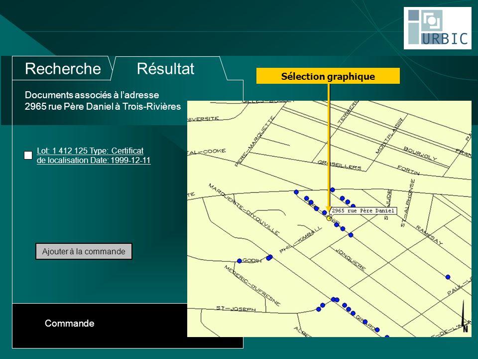 Documents associés à ladresse 2965 rue Père Daniel à Trois-Rivières RechercheRésultat Lot: 1 412 125 Type: Certificat de localisation Date: 1999-12-11 Ajouter à la commande Commande Sélection graphique