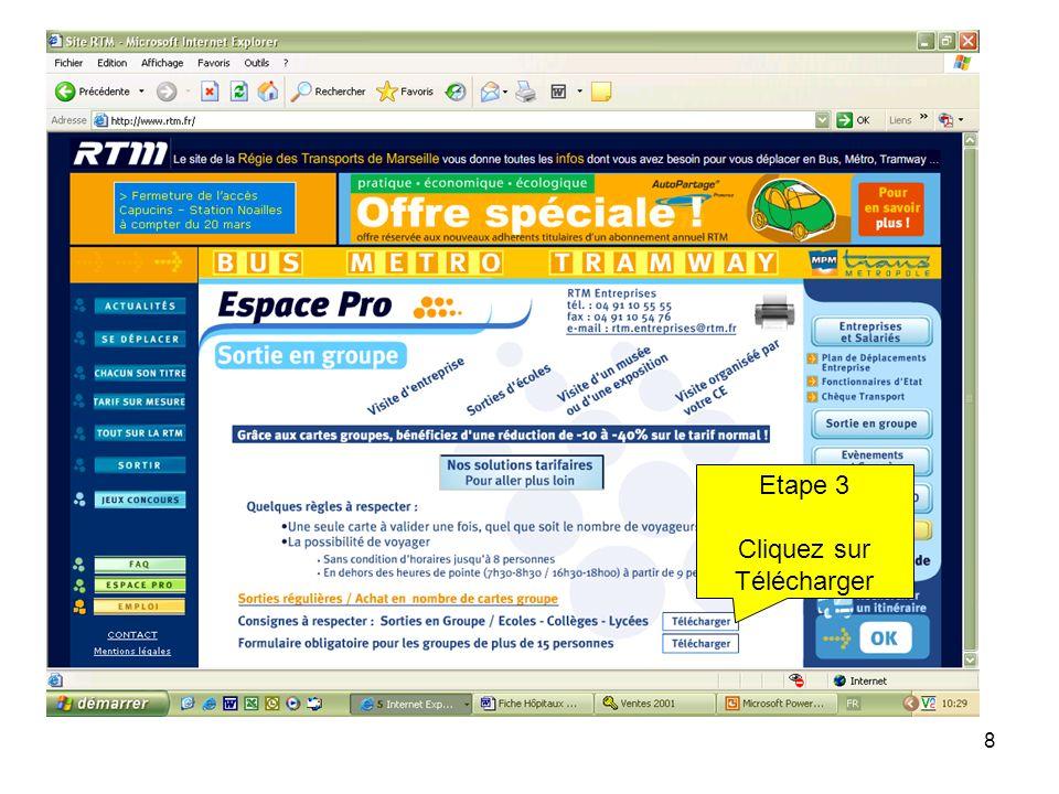 8 Etape 3 Cliquez sur Télécharger