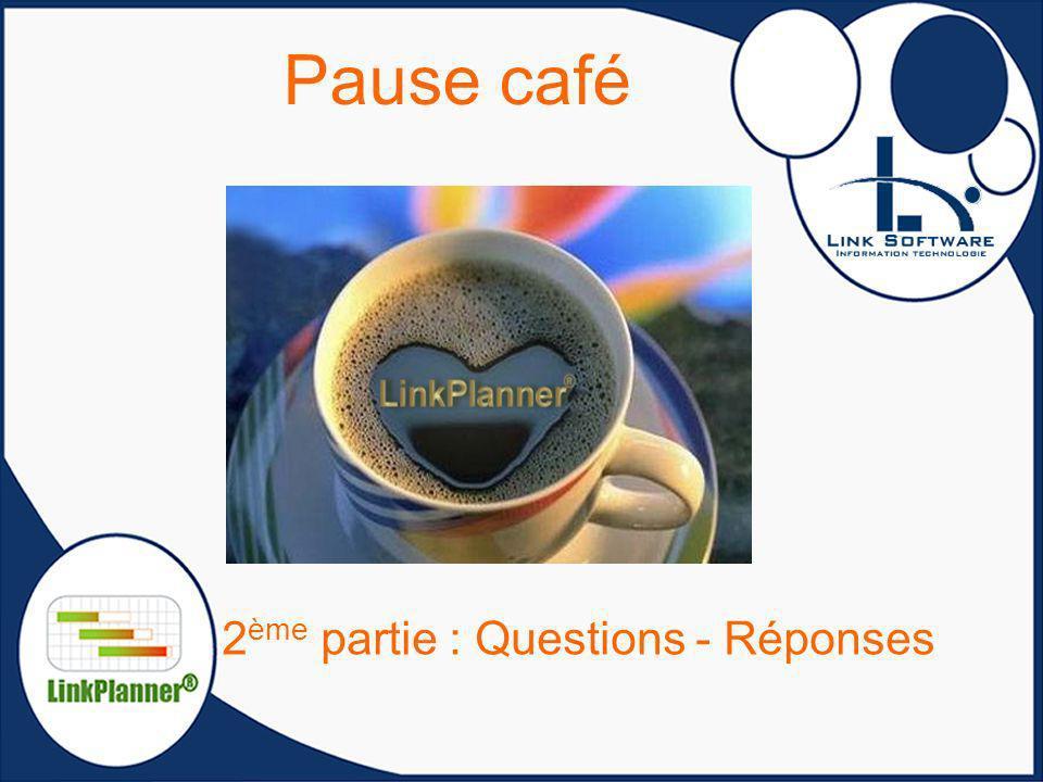 Pause café 2 ème partie : Questions - Réponses