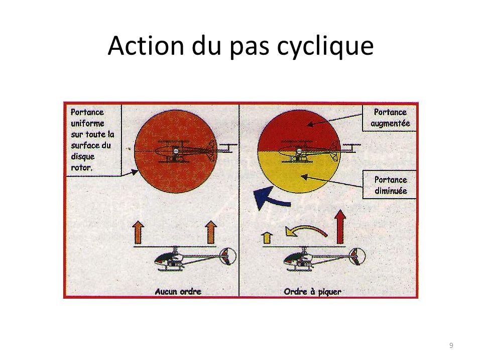 Action du pas cyclique 9