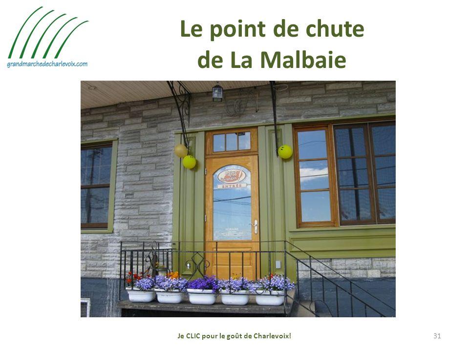 Le point de chute de La Malbaie Je CLIC pour le goût de Charlevoix!31