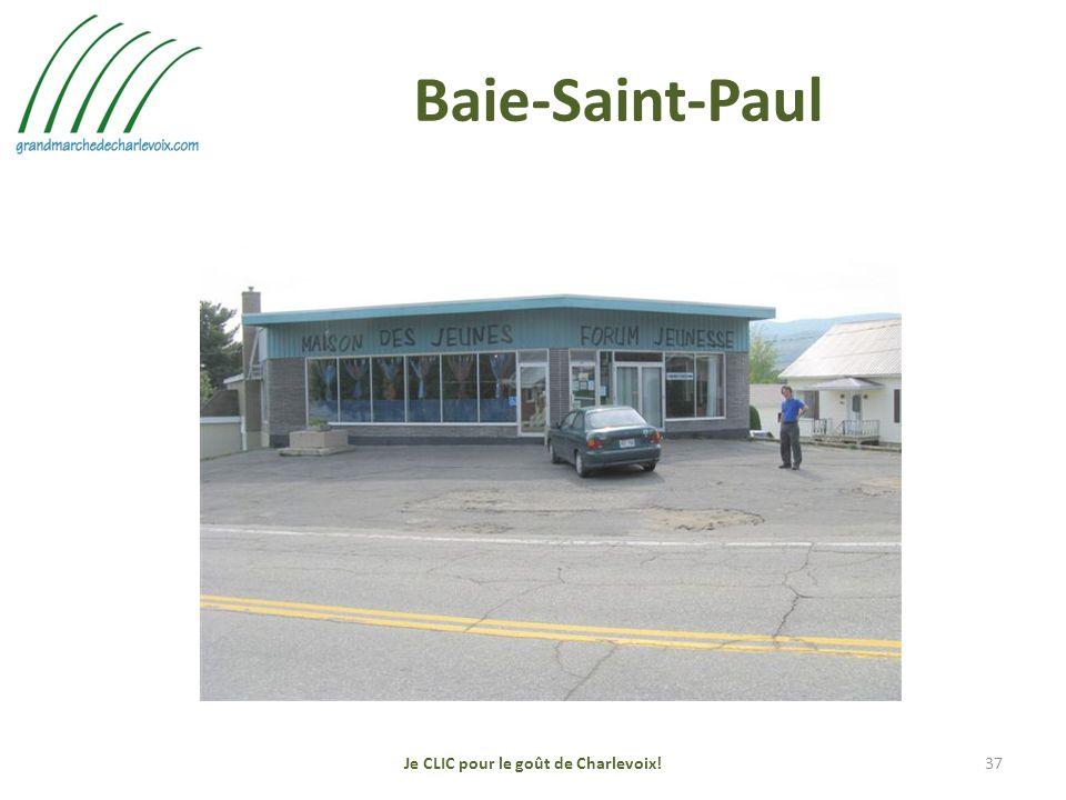 Baie-Saint-Paul Je CLIC pour le goût de Charlevoix!37