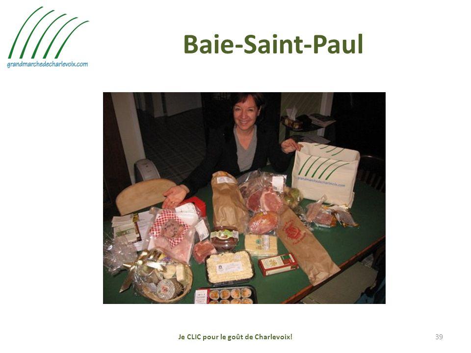 Baie-Saint-Paul Je CLIC pour le goût de Charlevoix!39
