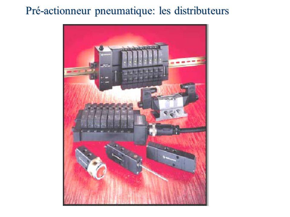 Pré-actionneur pneumatique: les distributeurs