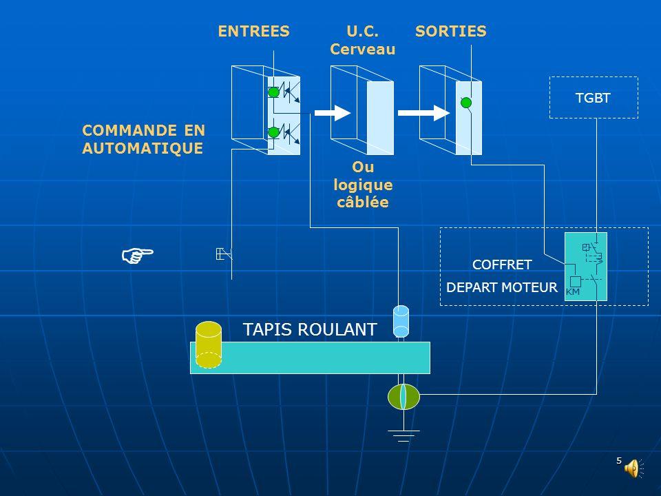 4 Protection contre les courts circuits Protection thermique du moteur Contacteur MAGNETIQUE THERMIQUE COFFRET DEPART MOTEUR TGBT EDF Et son circuit d