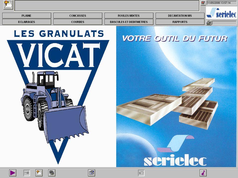 Carrières : Mise en place de ligne de production : - Drague - Concasseur - Convoyeur Conception de logiciel de suivi de production