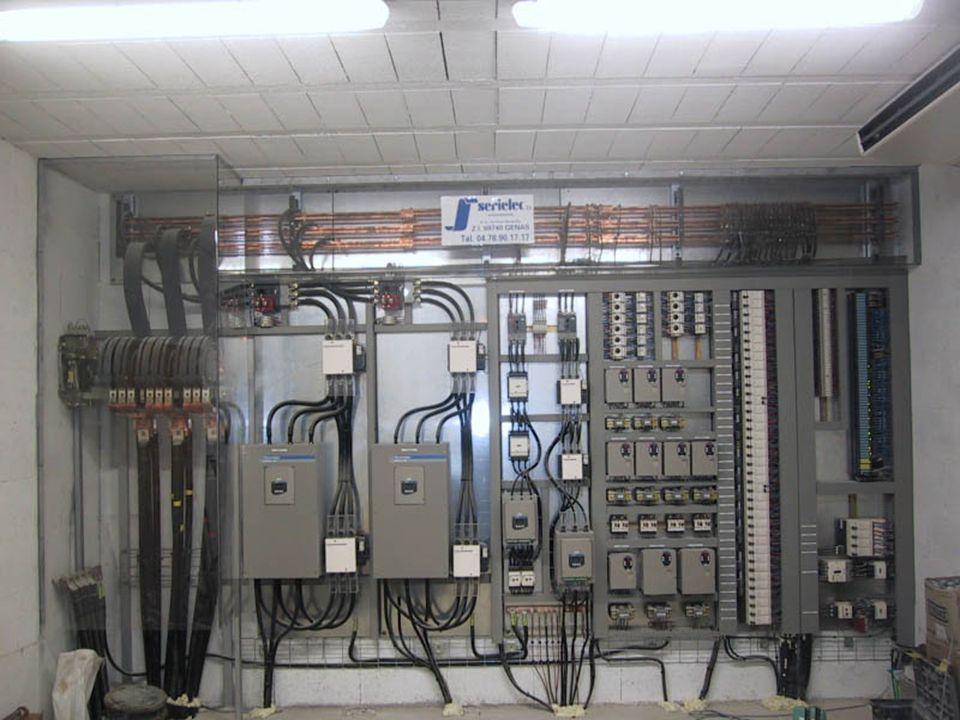 Autres clients : Conception darmoire électrique contenant parfois une partie dautomatisme Mise en place de commande numérique