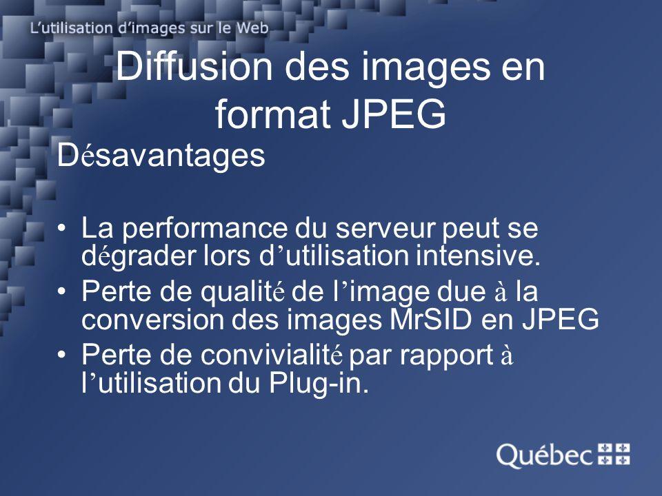 D é savantages La performance du serveur peut se d é grader lors d utilisation intensive.