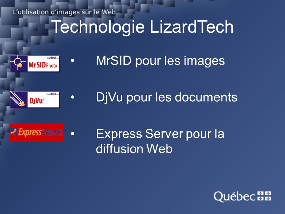Express Server et ses composantes Content Server