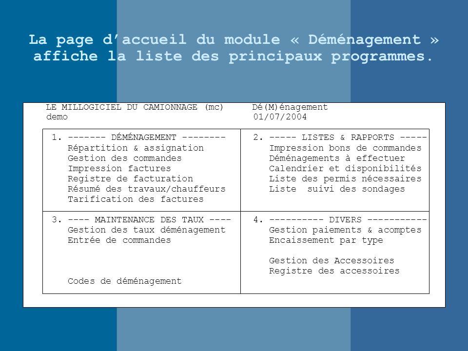 COMMANDES RÉSIDENTIEL TOUS Du 01/07/2004 au 01/07/2004 Numéro Dt H.