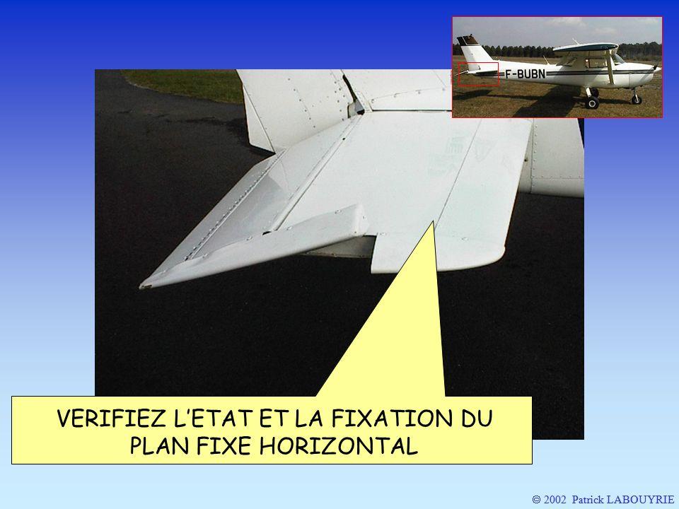 2002 Patrick LABOUYRIE VERIFIEZ LETAT ET LA FIXATION DU PLAN FIXE HORIZONTAL