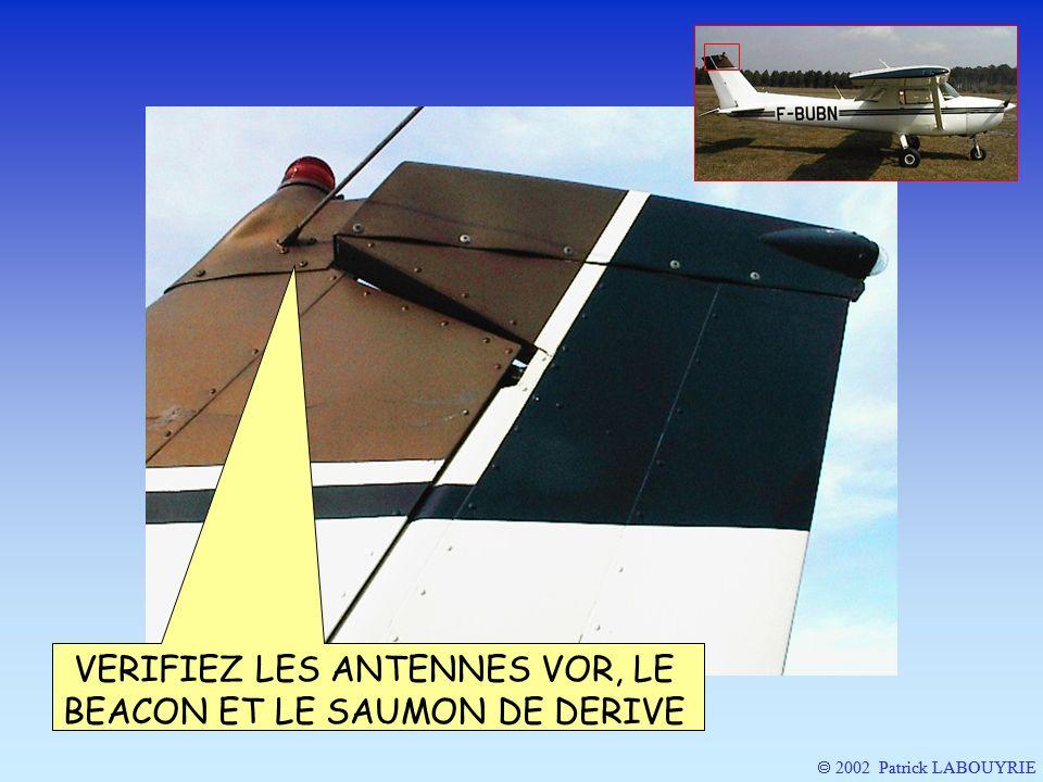2002 Patrick LABOUYRIE VERIFIEZ LES ANTENNES VOR, LE BEACON ET LE SAUMON DE DERIVE