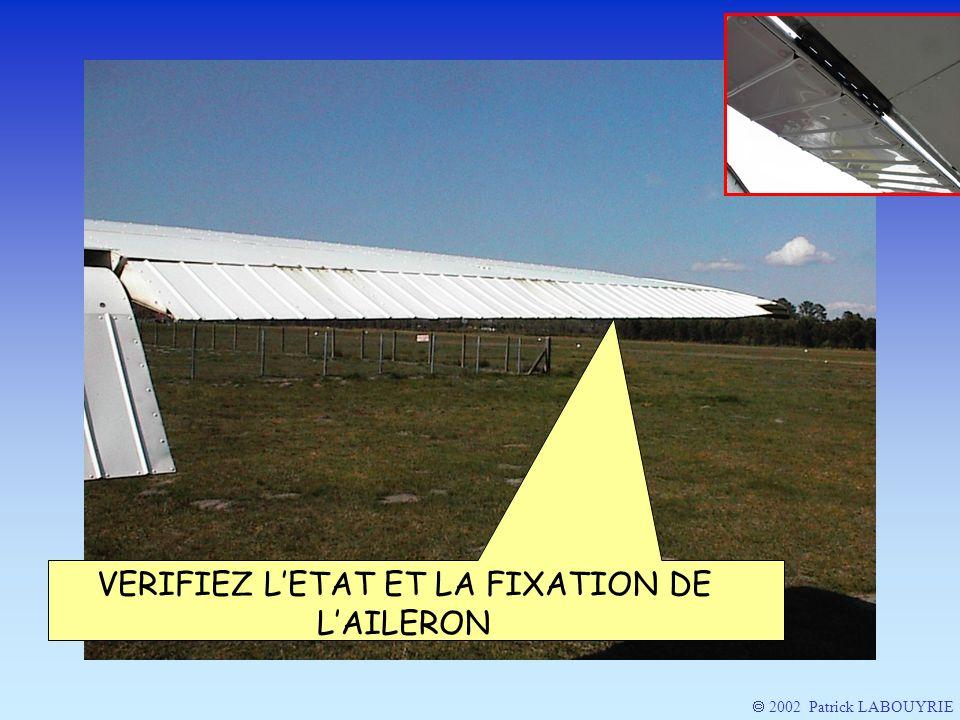 2002 Patrick LABOUYRIE VERIFIEZ LETAT ET LA FIXATION DE LAILERON