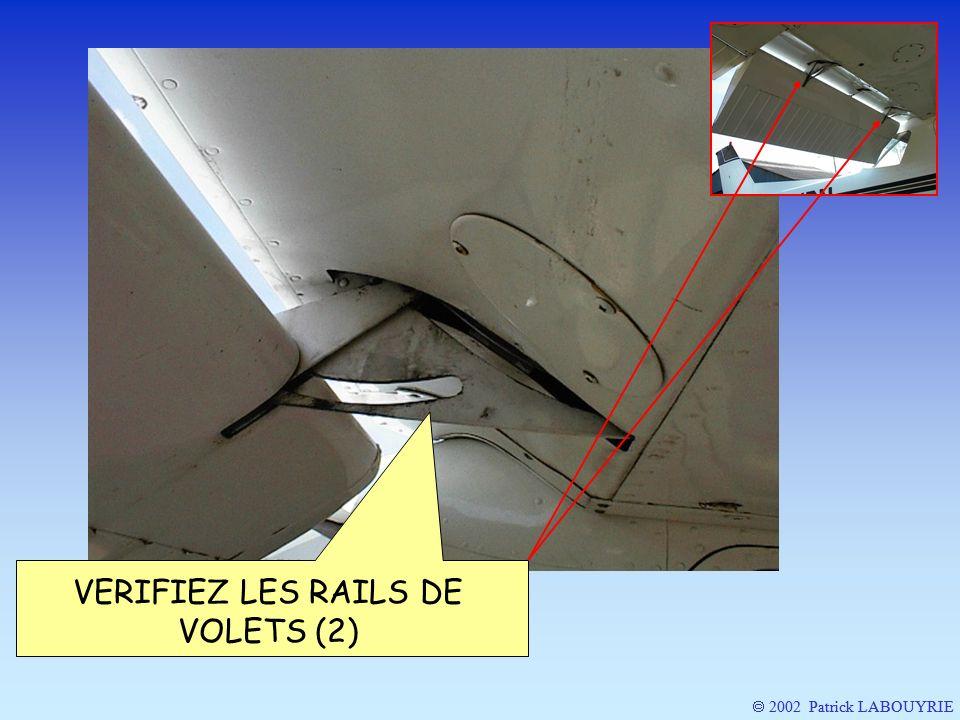 VERIFIEZ LES RAILS DE VOLETS (2)