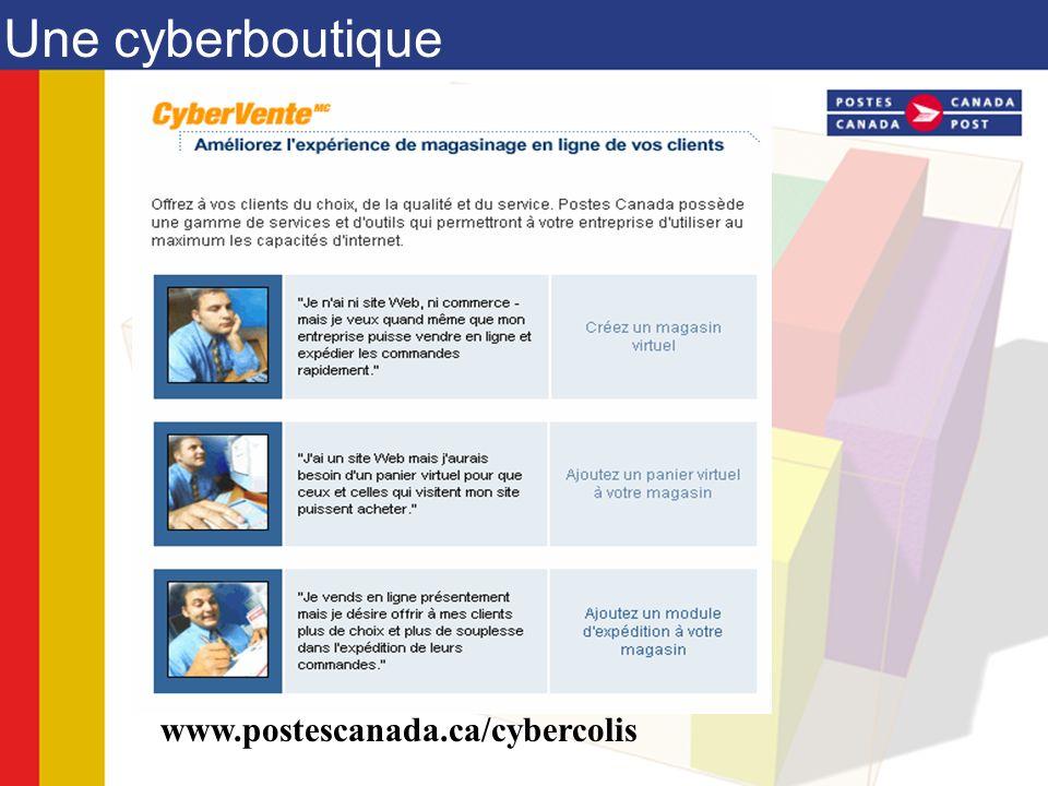 Boutiques CyberColis : création rapide et aisée dune cyberboutique sécurisée.