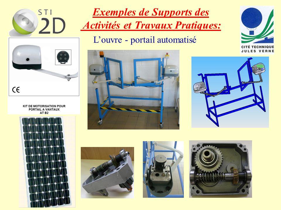 Louvre - portail automatisé texte Exemples de Supports des Activités et Travaux Pratiques: