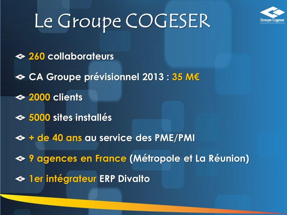 3 Nos Domaines dExpertise GROUPE COGESER EXPERTISE INNOVATION PERENNITE PARTENARIAT