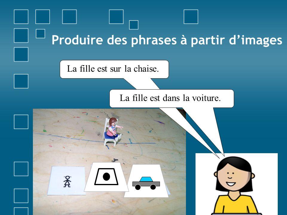 Exemples dexploitations (MS-GS) Les enfants connaissent lalbum DANS LE NOIR lu à plusieurs reprises.