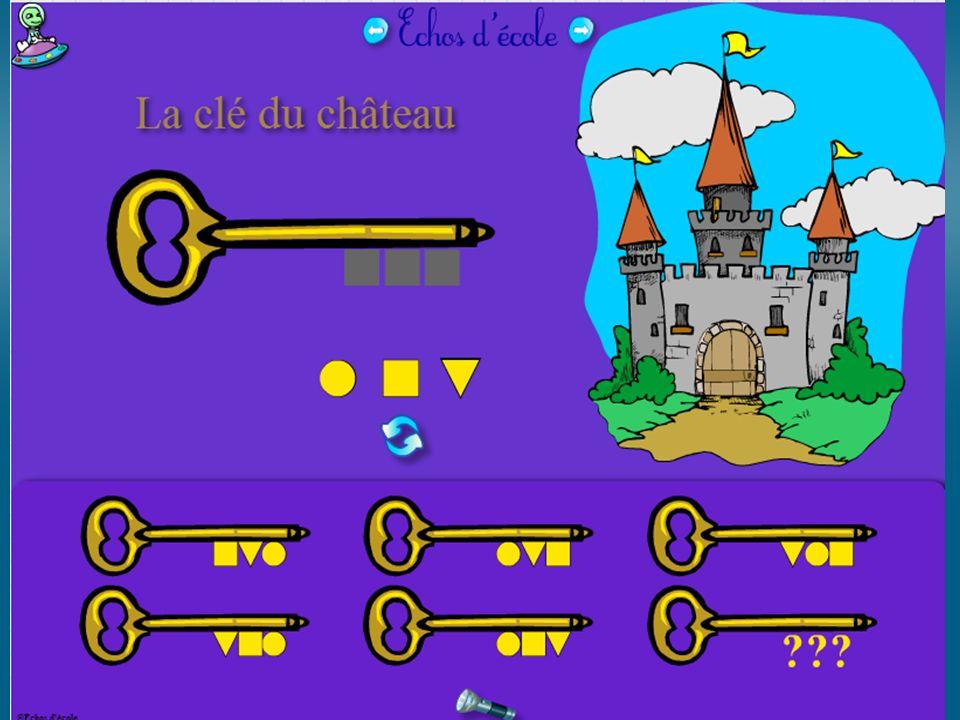 Mathématiques magiques http://therese.eveilleau.pagesperso-orange.fr/ http://therese.eveilleau.pagesperso- orange.fr/pages/jeux_mat/indexF.htmhttp://therese.eveilleau.pagesperso- orange.fr/pages/jeux_mat/indexF.htm POUR LES PETITS Méli-mélo des couleurs Memory des formes et couleurs 10 puzzles artistes (ex.: Vasarely…) Labyrinthes GS, CP, CE ET PLUS… Jeux de repérage TUIC