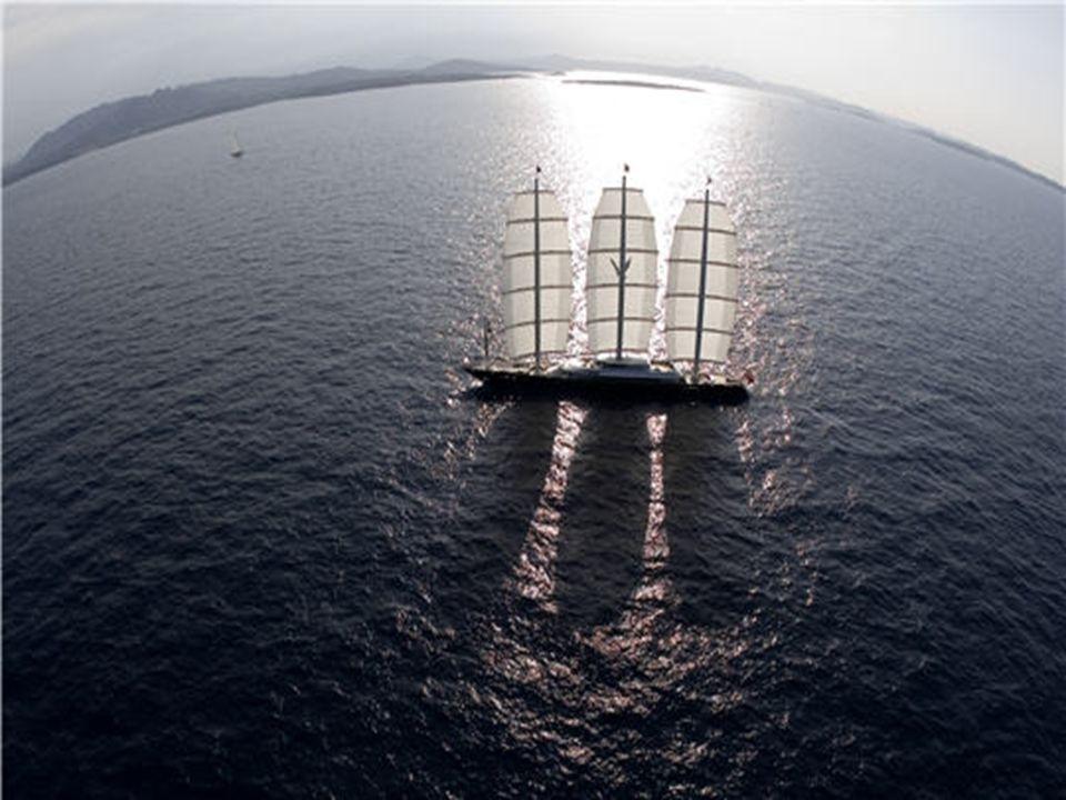 Un yacht révolutionnaire La taille, la technologie et le design sont les trois éléments clés qui distinguent le Maltese Falcon, et en font un yacht à
