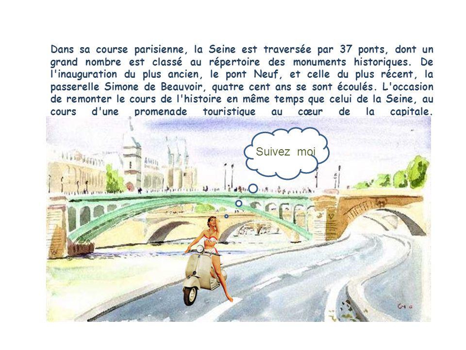 Situé à lépoque en dehors de Paris, le pont de Bercy a été inauguré en 1864 pour remplacer un ouvrage suspendu, jugé trop léger.