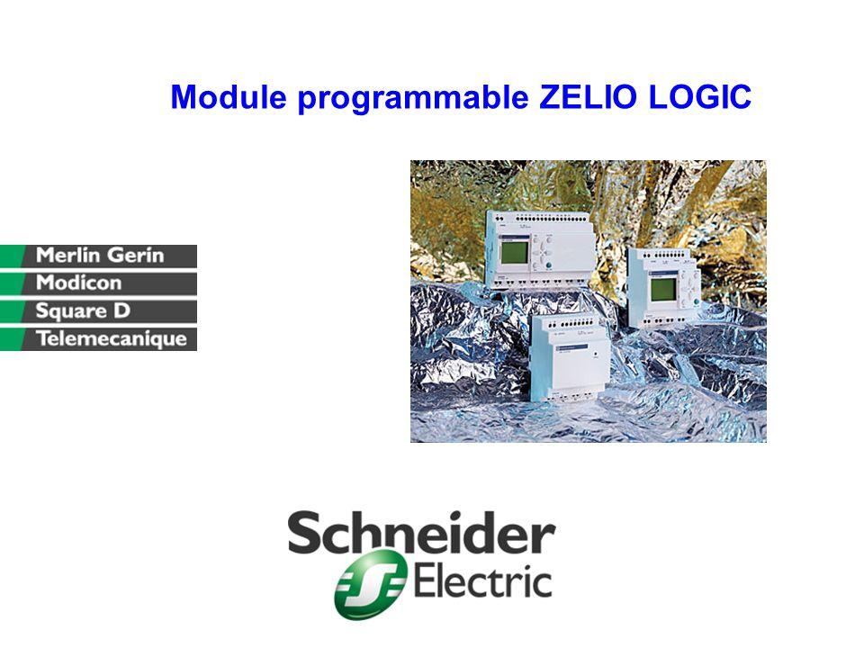Module programmable ZELIO LOGIC