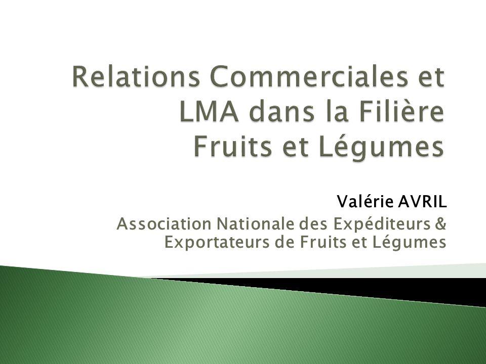 Valérie AVRIL Association Nationale des Expéditeurs & Exportateurs de Fruits et Légumes