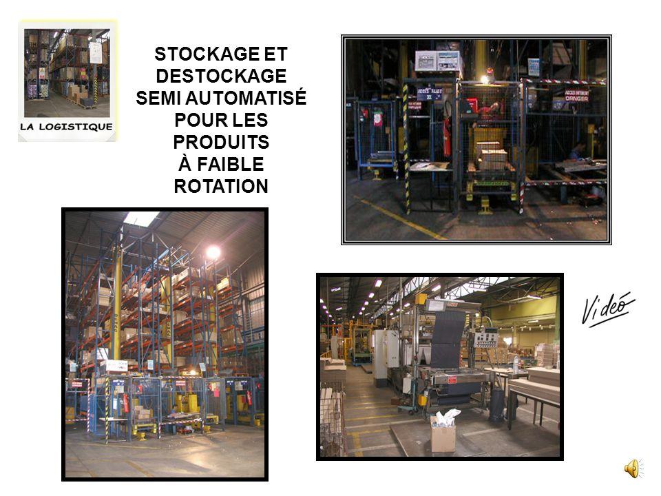La logistique : ensemble des techniques permettant de gérer les flux de marchandises ou de produits (approvisionnement, transport, stockage, préparati