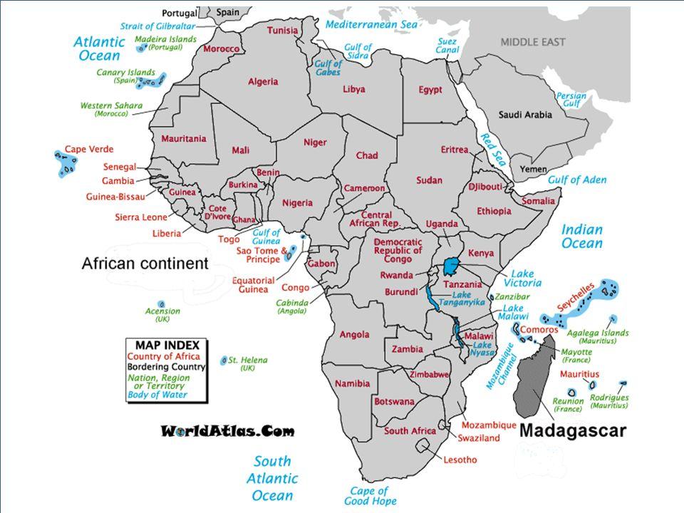 5 e plus grande île après l Australie, le Groenland, la Nouvelle-Guinée et l île de Bornéo Dans lOcéan indien, séparée de lAfrique par le Canal du Mozambique 587 000 km² (France + Benelux) 1570 km de long et 580 km de large