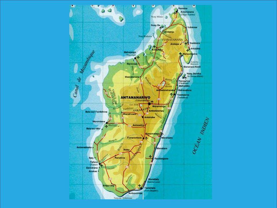 Climat Entre lEquateur et le Tropique sud La pointe la plus chaude… cest le nord .