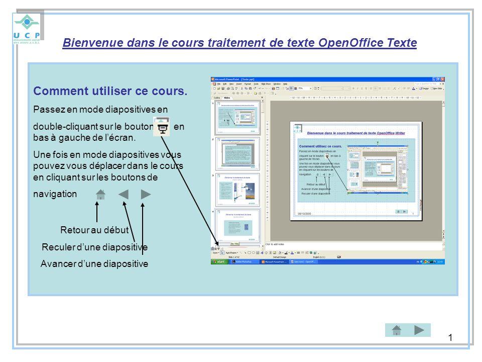 2 Le traitement de texte (TTX) est un outil performant qui vous permet de créer des documents de manière professionnelle.