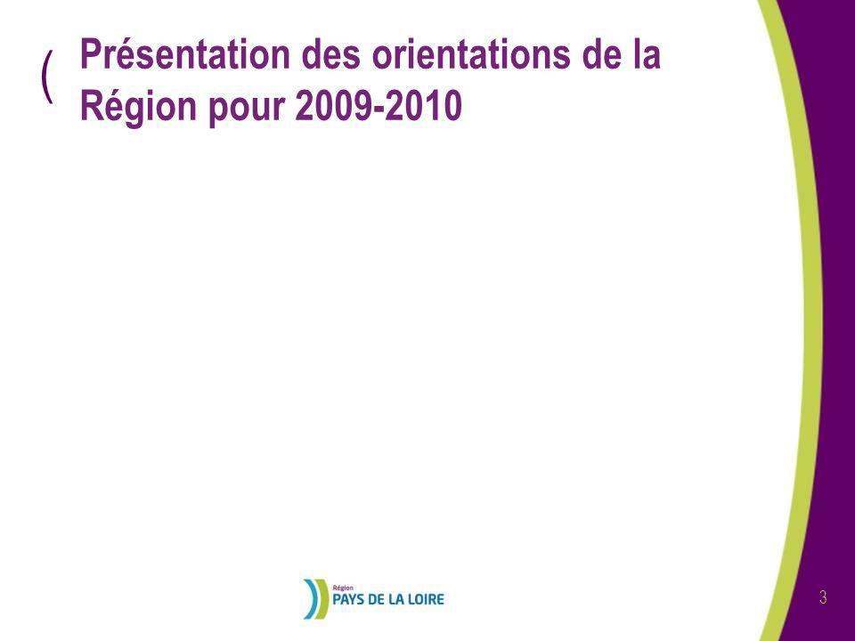 ( 4 Les orientations par programme de formation Offre de Formation Territorialisée Programme Régional de Formations Qualifiantes Promotion sociale