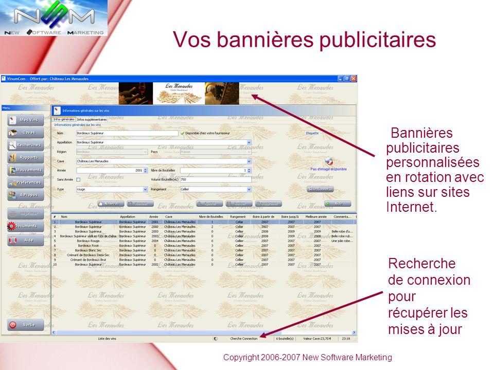 Vos bannières publicitaires Bannières publicitaires personnalisées en rotation avec liens sur sites Internet.