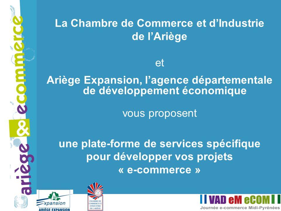 La Chambre de Commerce et dIndustrie de lAriège et Ariège Expansion, lagence départementale de développement économique vous proposent une plate-forme