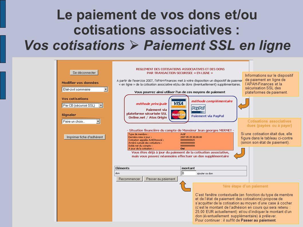 Exemple de modification des données de votre compte dadhérent : Vos données Etat-civil sommaire Pour chacune des grilles de saisie présentes dans cet