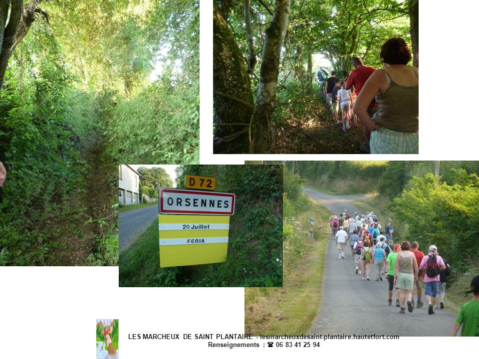 LES MARCHEUX DE SAINT PLANTAIRE - lesmarcheuxdesaint-plantaire.hautetfort.com Renseignements : 06 83 41 25 94