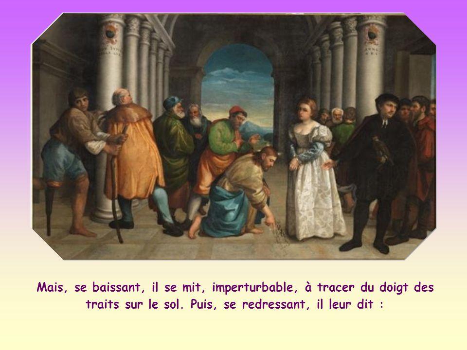 En confirmant la condamnation à mort, Jésus aurait contredit son enseignement sur la miséricorde de Dieu envers les pécheurs.