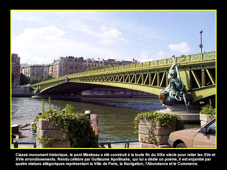 Liste des ponts de Paris sur la Seine 01 Pont amont 02 Pont National 03 Pont de Tolbiac 04 Passerelle Simone-de-Beauvoir 05 Pont de Bercy 06 Pont Char