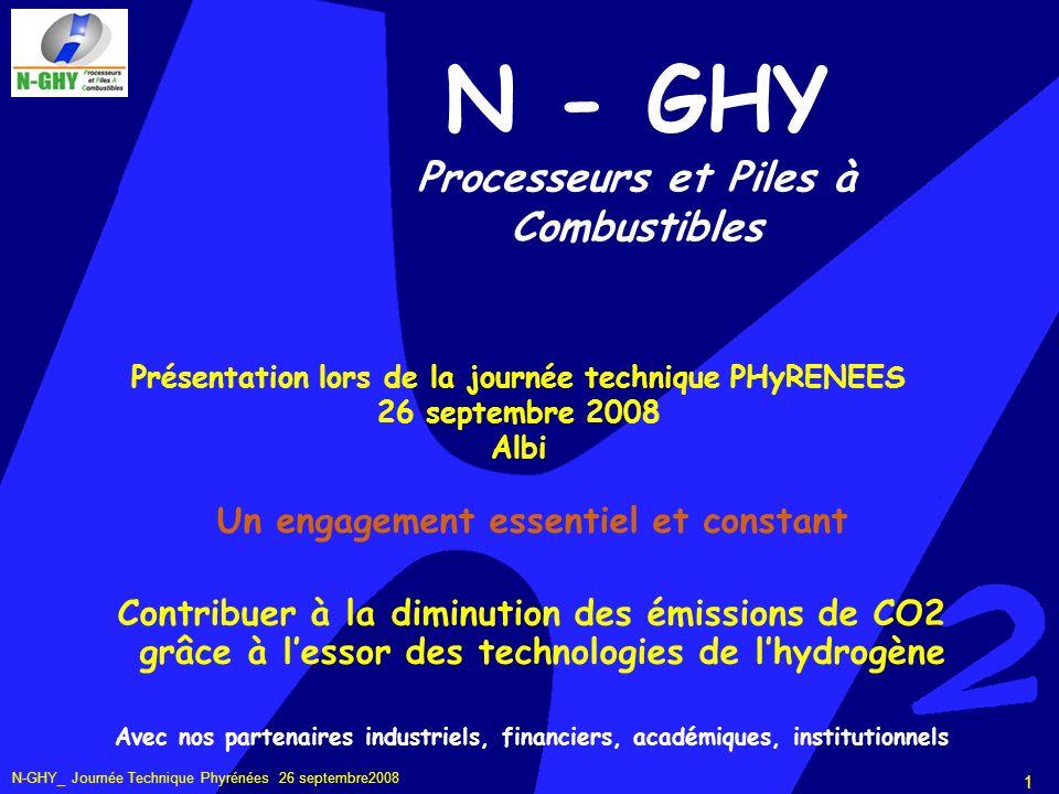 N-GHY_ Journée Technique Phyrénées 26 septembre2008 2 Qui est N-GHY .