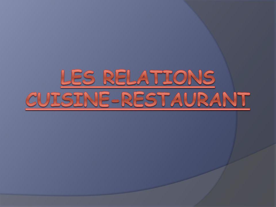 Mise en situation : Certains types détablissements, souvent des petites structures (bistrot, bouchon, brasserie…) proposent une cuisine du marché.