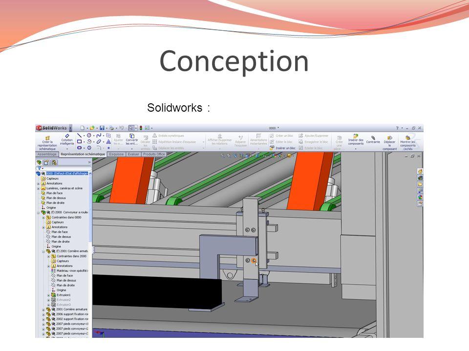 Conception Solidworks :